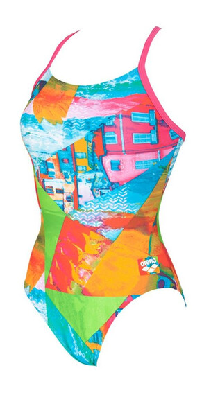 arena Collage - Bañadores Mujer - Light Drop Back Multicolor